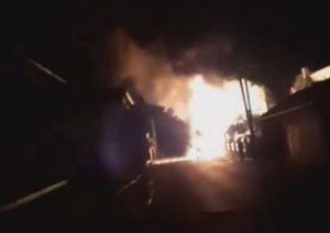 Κιλκίς: Ταυτόχρονη φωτιά σε βενζινάδικο και βυτιοφόρο – Οι εικόνες που προκάλεσαν πανικό – video