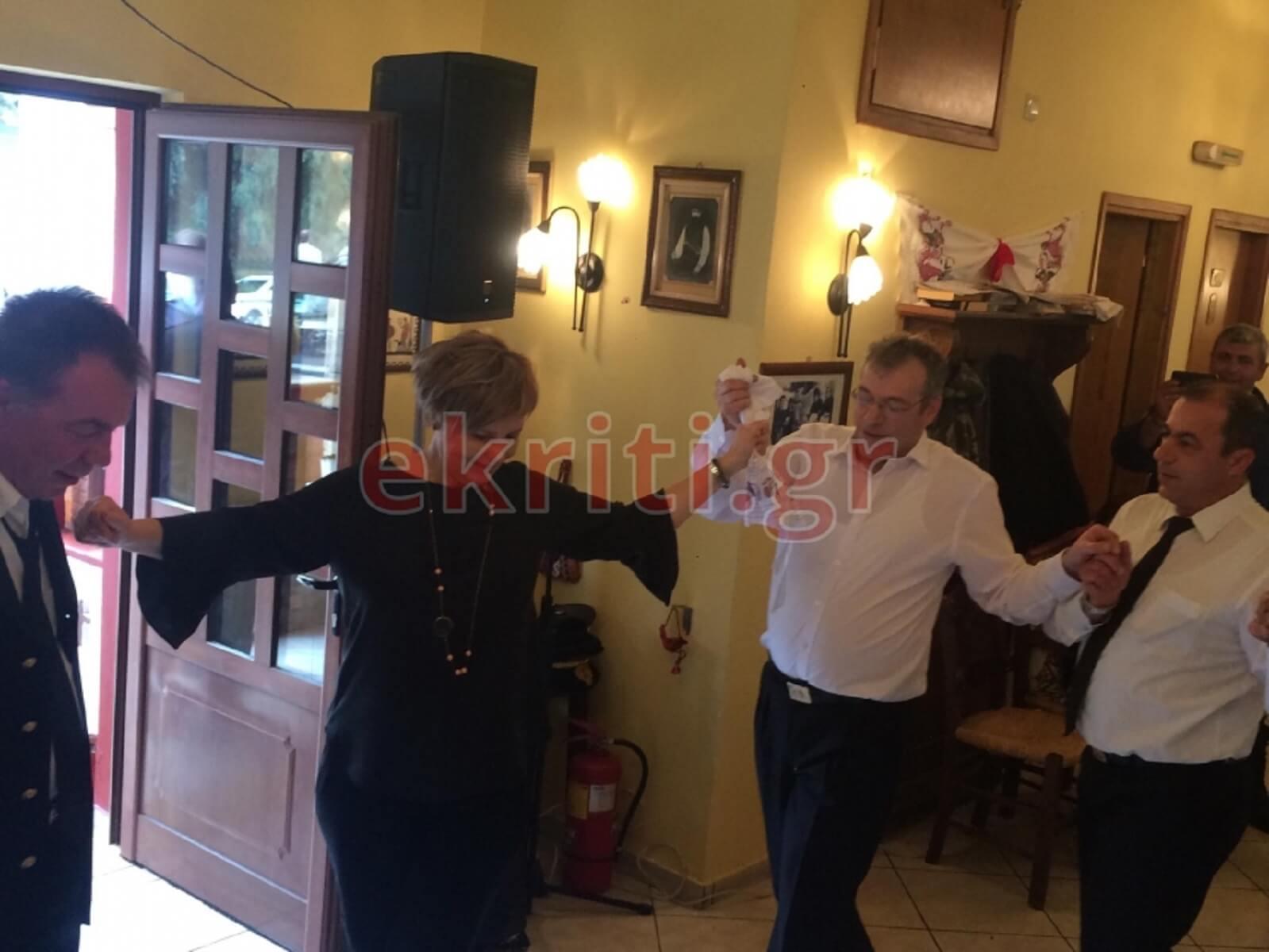Οι χοροί της Όλγας Γεροβασίλη στα Ανώγεια
