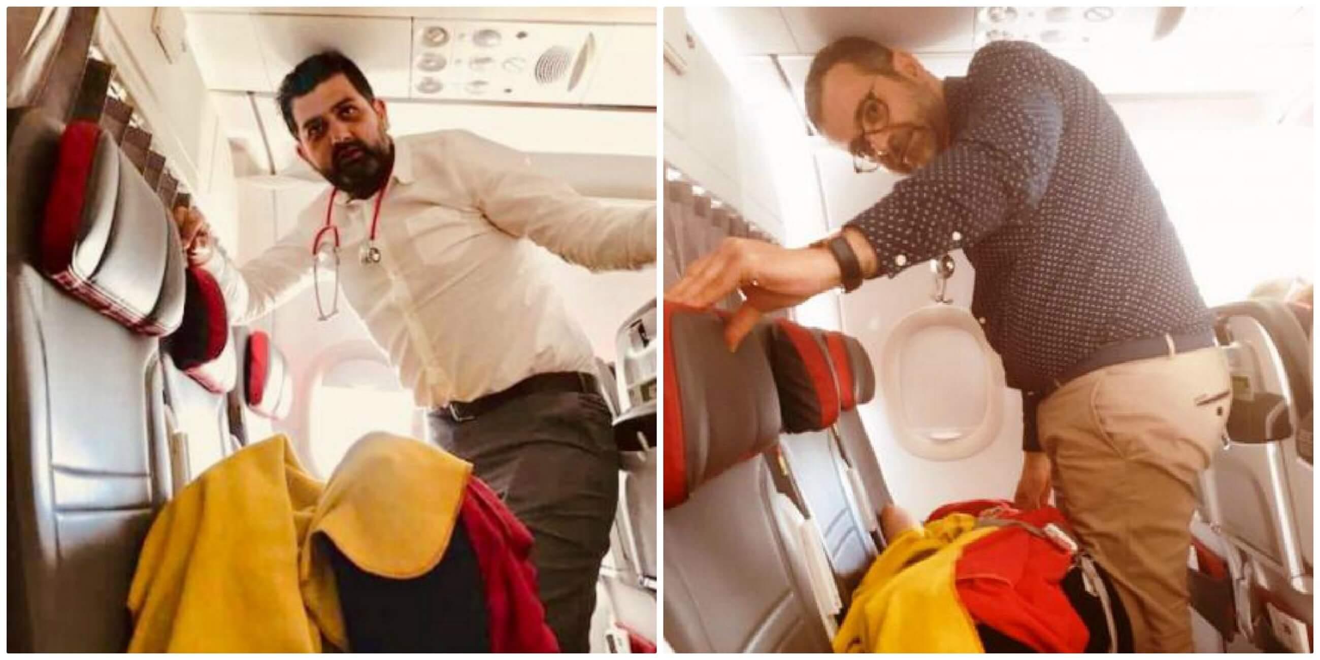 Αχαϊα: Θρίλερ σε αεροπορικό ταξίδι – Την έσωσαν από βέβαιο θάνατο στην καμπίνα των επιβατών [pics]
