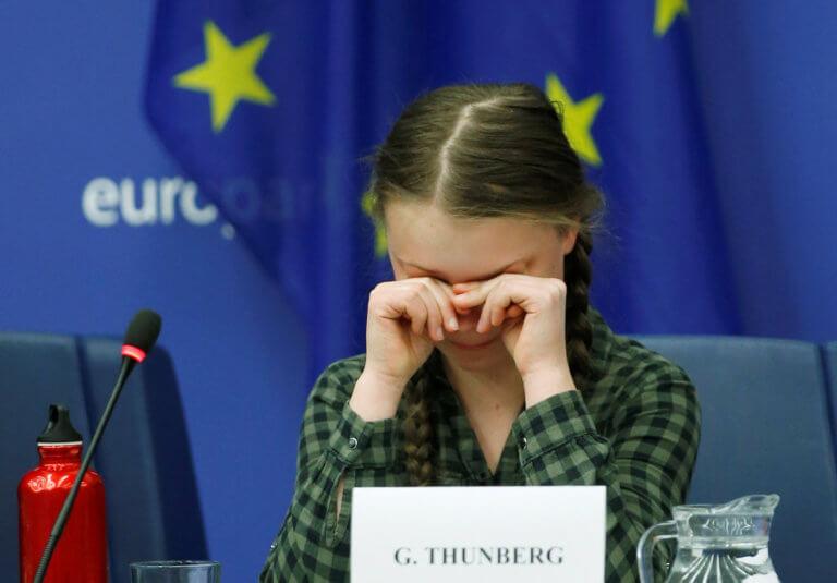Πρέπει όλοι να ακούσουμε την 16χρονη Γκρέτα Τούνμπεργκ! video