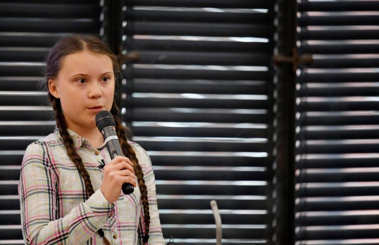 Στο Ουέστμινστερ η 16χρονη ακτιβίστρια Γκρέτα Τούνμπεργκ!