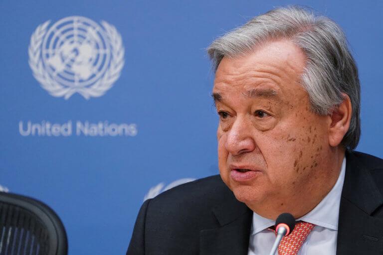 ΟΗΕ: Και επίσημα υποψήφιος ο Γκουτέρες για νέα θητεία