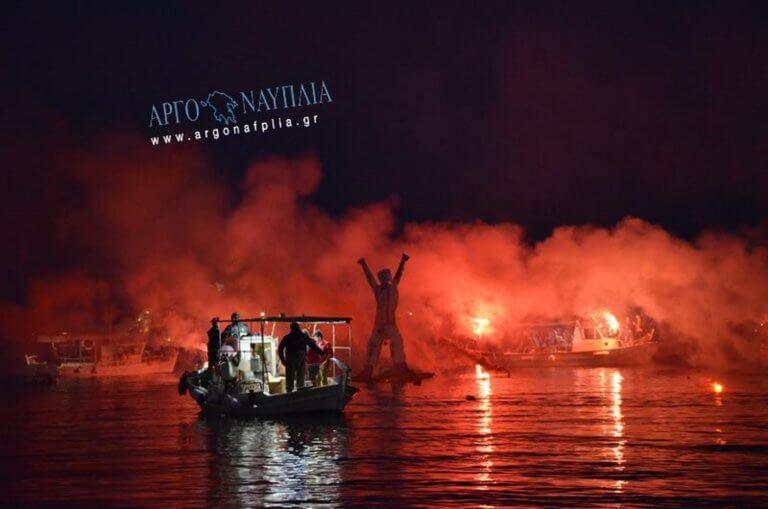 Τολό: Έκαψαν τον Ιούδα στην θάλασσα – video
