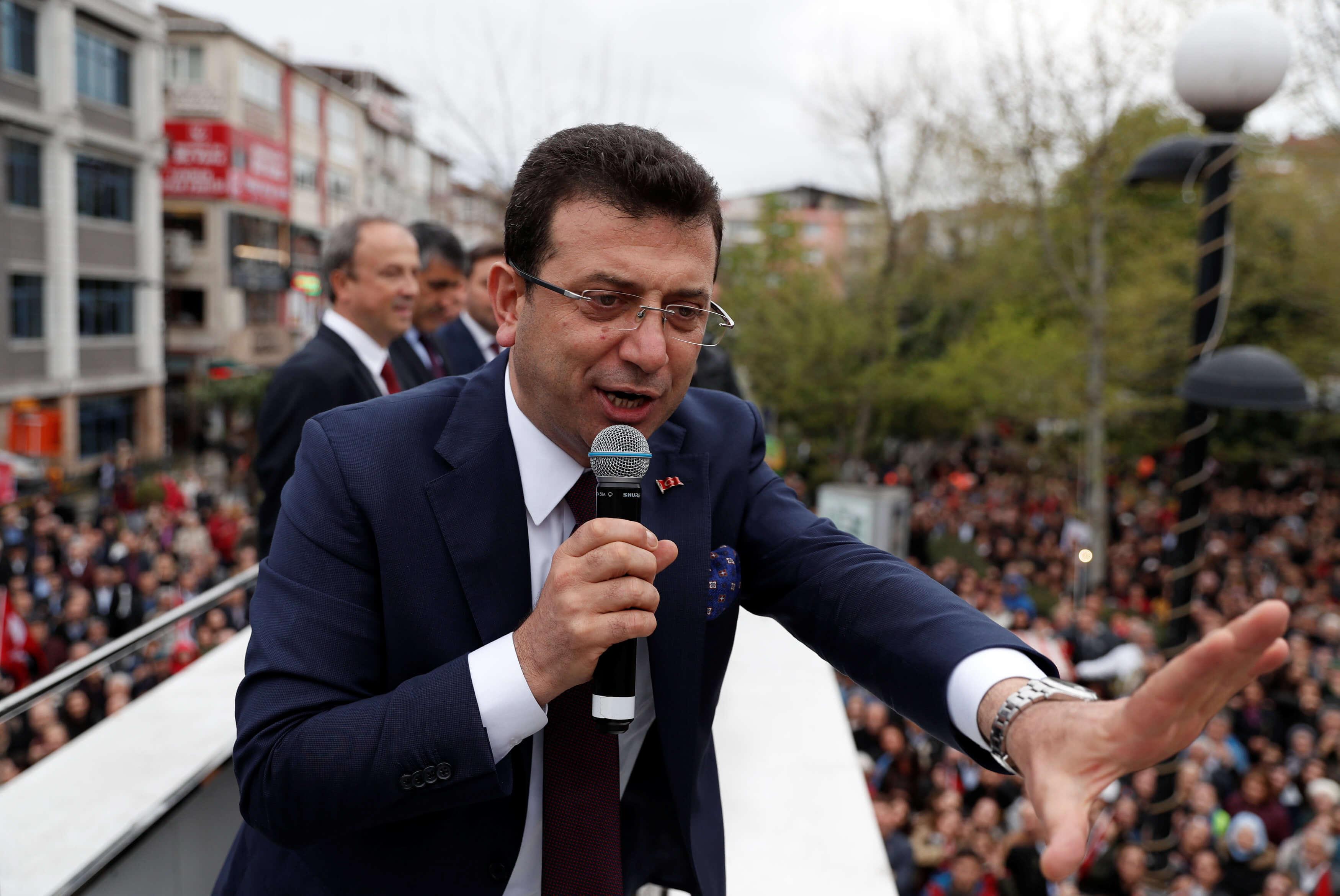Οριστικό! Δήμαρχος Κωνσταντινούπολης ο Εκρέμ Ιμάμογλου!