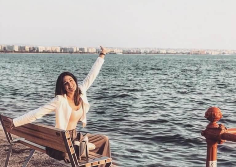 Ιωάννα Τριανταφυλλίδου: Η βόλτα της ηθοποιού στην εξοχή!