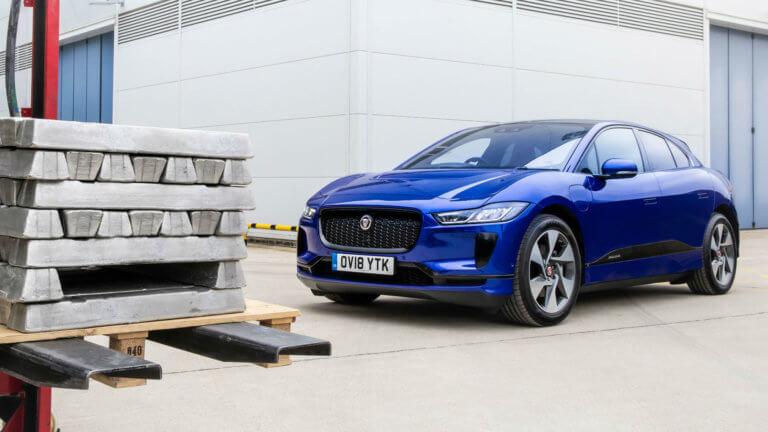 Η Jaguar ανακυκλώνει αλουμίνιο από τις I-Pace