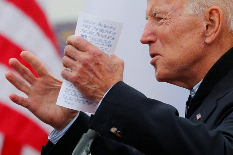 Ο Τζο Μπάιντεν έτοιμος να διεκδικήσει το χρίσμα των Δημοκρατικών