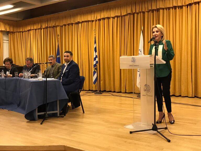 Ιωάννα Καλαντζάκου: «Να μπει τέλος στην εθνική καταστροφή που μας έχει οδηγήσει η κυβέρνηση ΣΥΡΙΖΑ»