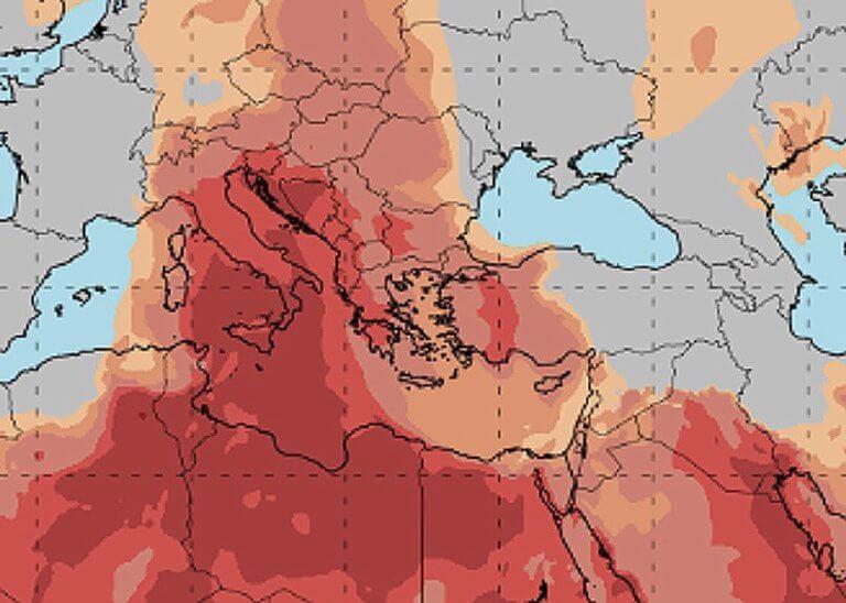 Καιρός – Καλλιάνος: Θα χαθεί ο ήλιος από τη σκόνη – Πολύ υψηλές θερμοκρασίες