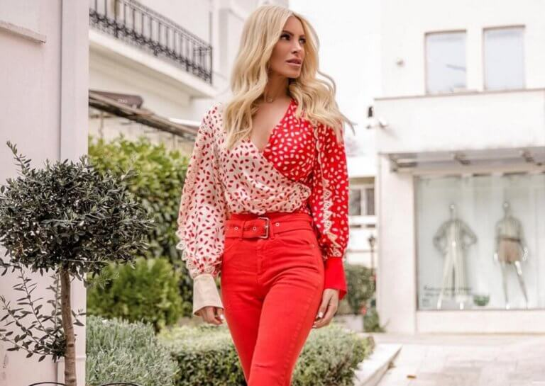 """Κατερίνα Καινούργιου: Ποζάρει στα κόκκινα και """"ρίχνει"""" το Instagram! [pics]"""
