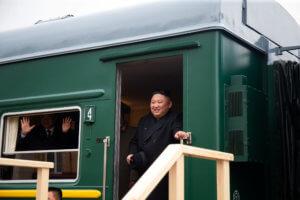 Πάτησε Ρωσία ο Κιμ! Το τρένο του έφτασε στο Βλαδιβοστόκ [pics]