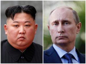 Μόσχα: Ξαφνική συνάντηση του Βλαντιμίρ Πούτιν με τον Κιμ Γιονγκ Ουν!