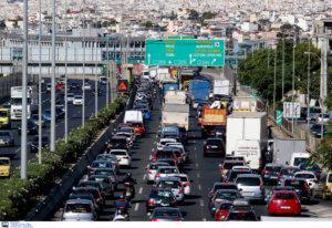 Μποτιλιάρισμα στην εθνική οδό Αθηνών – Κορίνθου! Προβλήματα και στην Αττική Οδό