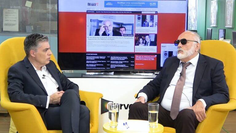 Ευρωεκλογές 2019 – Παναγιώτης Κουρουμπλής στο newsit.gr: Αμβρόσιος, Μαρινάκης, Κόκκαλης… Παπανδρέου! video