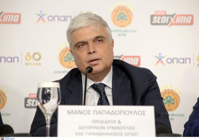 """Παναθηναϊκός – Παπαδόπουλος σε Ολυμπιακό: """"Αν θέλετε να φύγετε"""""""