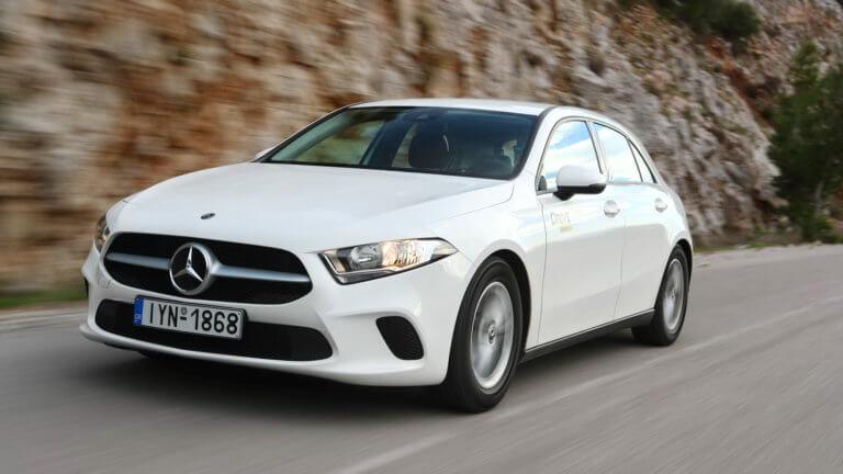 Δοκιμάζουμε τη νέα 1.300άρα Mercedes-Benz A-Class