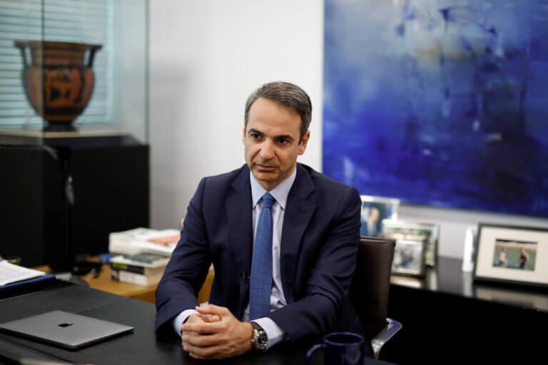 Μητσοτάκης: Η ΝΔ θα τηρήσει τη συμφωνία των Πρεσπών αλλά με βελτιώσεις