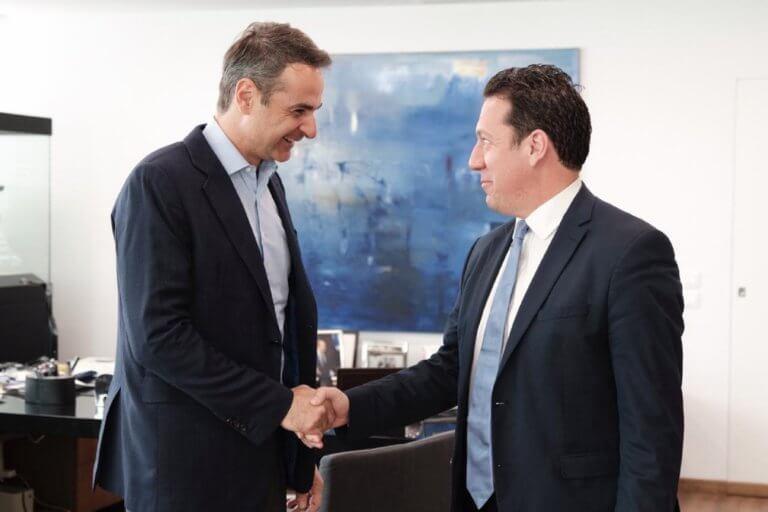 Υποψήφιος με τη ΝΔ στην Α' Αθηνών θα είναι ο δικηγόρος και οικονομολόγος κ. Δημήτρης Ιατρίδης