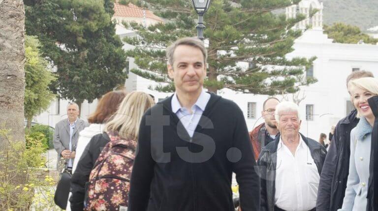 Κυριάκος Μητσοτάκης: Η ευχή του προέδρου της ΝΔ από την Πάρο – video
