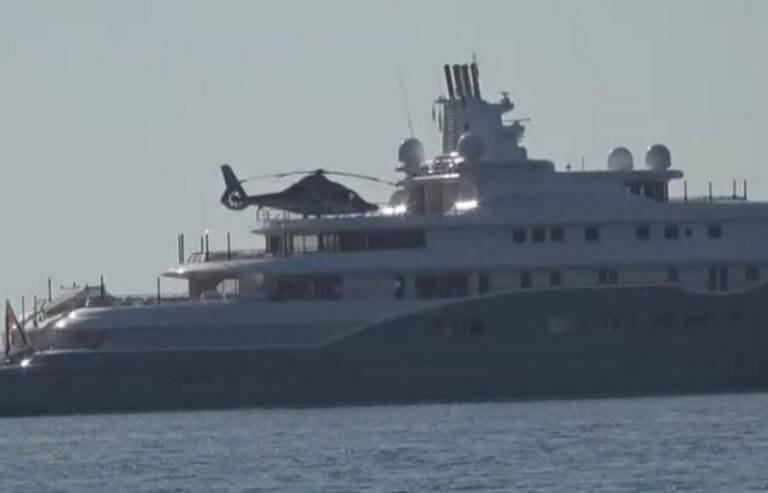 Μύκονος: Η θαλαμηγός του εμίρη έκρυψε μέρος του ορίζοντα – Στα 280.000.000 ευρώ η αξία της – video