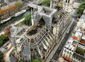 Παναγία των Παρισίων: Από τη βάση του βέλους που κατέρρευσε ξεκίνησε η φωτιά