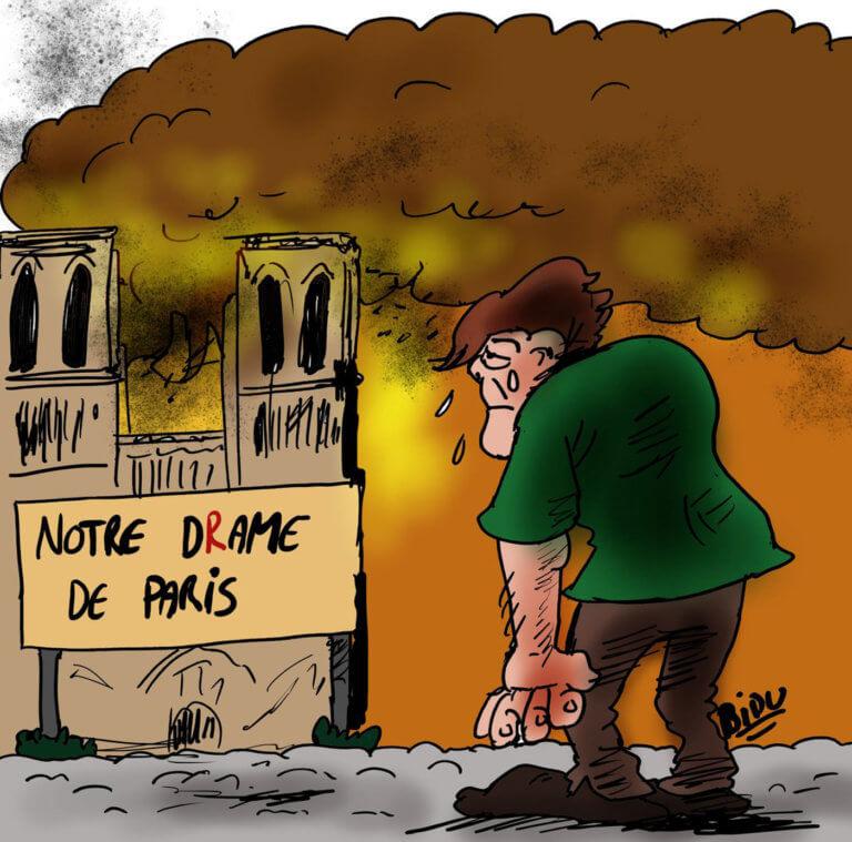 Παναγία των Παρισίων: Ο δακρυσμένος Κουασιμόδος – Τα σκίτσα που καθηλώνουν
