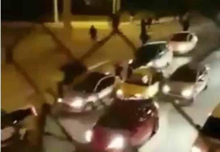 ΑΕΚ – Ολυμπιακός: Video από τη νέα επίθεση οπαδών!
