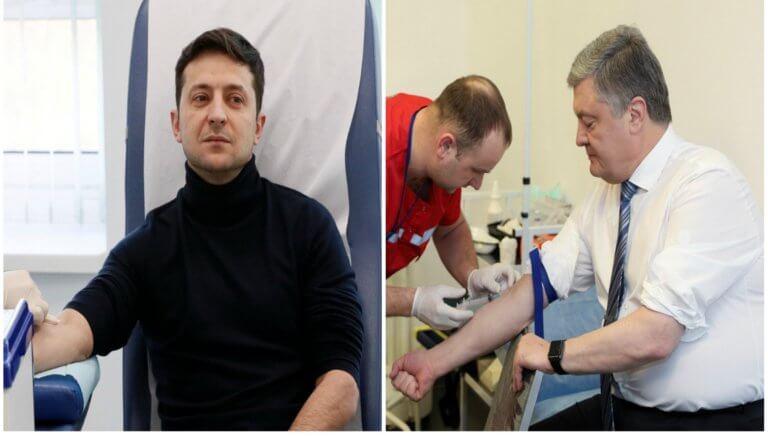 Ουκρανία: Απίστευτο! Έκαναν… τοξικολογικές εξετάσεις πριν το debate! pics