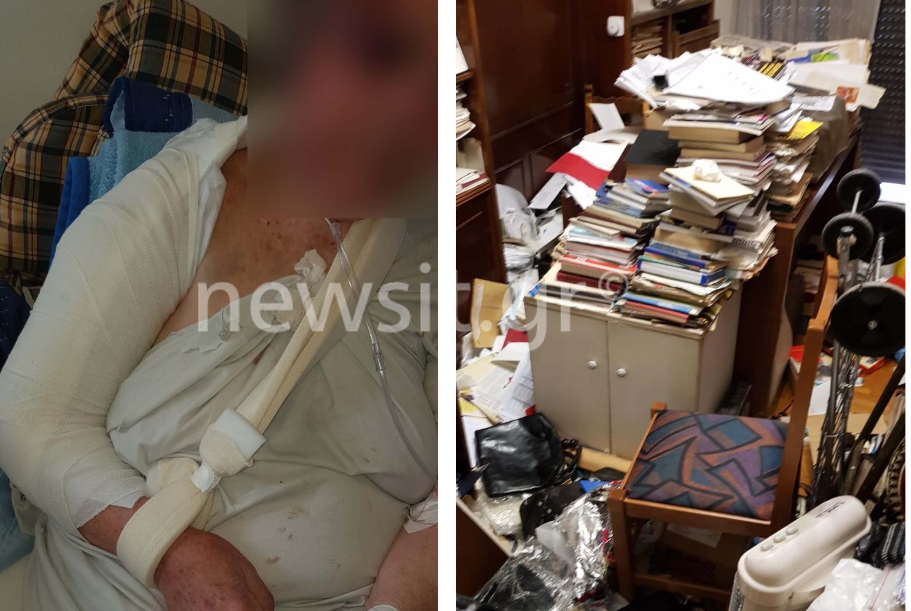Παγκράτι: Αυτή είναι η 84χρονη που ξυλοκοπήθηκε από ληστές – Σοκαριστικές εικόνες
