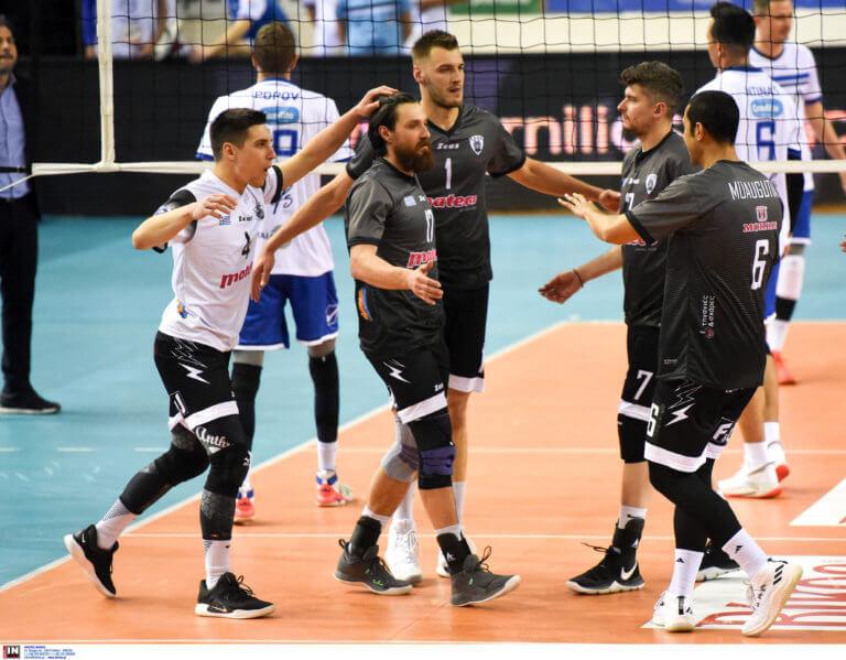 """Volleyleague: Άνετα ο ΠΑΟΚ! """"Καθάρισε"""" τον Ηρακλή"""