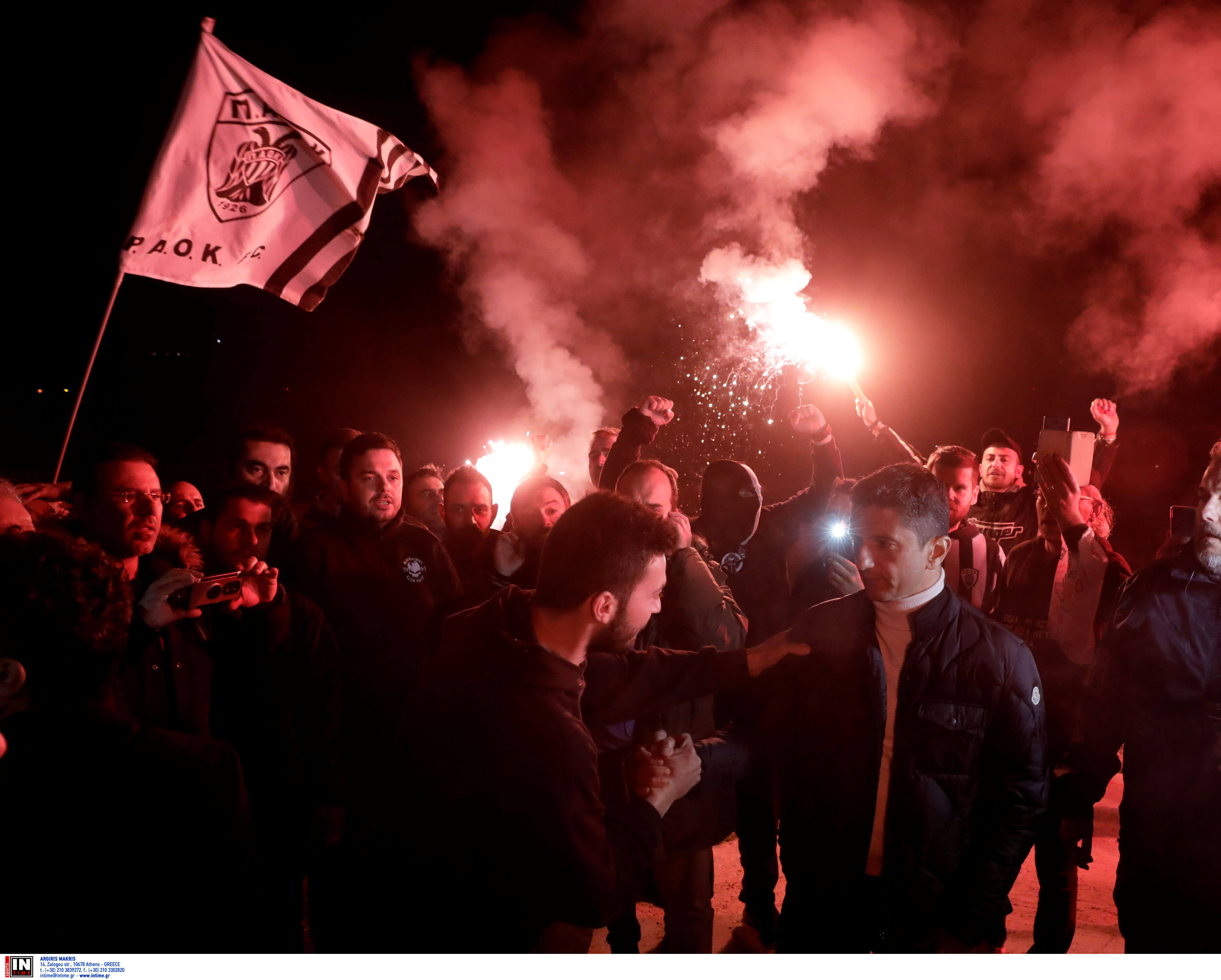 """ΠΑΟΚ: """"Γλέντι"""" στα Τέμπη! Χαμός και στα Μάλγαρα – [vids, pics]"""