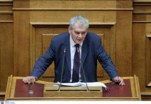 Στην Βουλή η ποινική δικογραφία για Παπαγγελόπουλο, Κουρουμπλή, Σαντορινιό