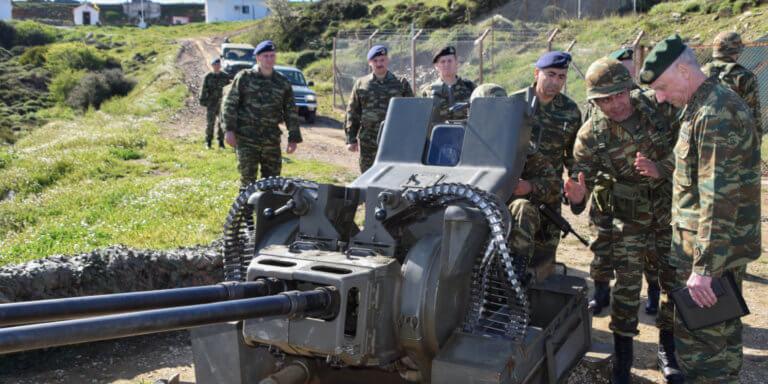«Έφοδος» του Γενικού Επιθεωρητή Στρατού σε δυνάμεις και Μονάδες της ΑΣΔΕΝ! [pics]