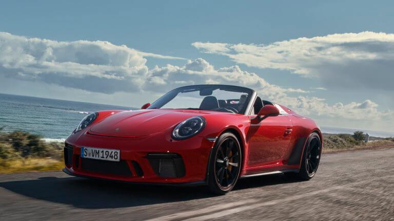 Πρεμιέρα στη Νέα Υόρκη για τη νέα Porsche 911 Speedster