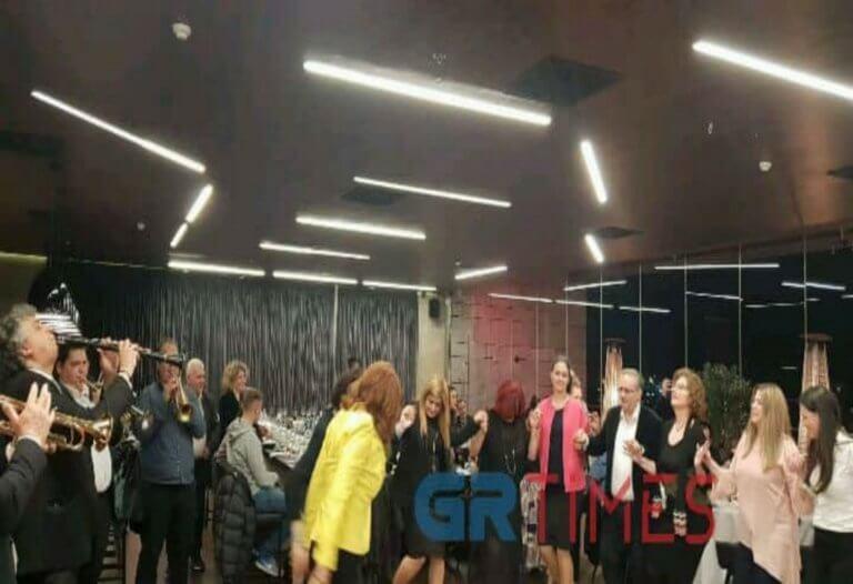 Η υφυπουργός Μακεδονίας – Θράκης χόρεψε ποντιακά – video