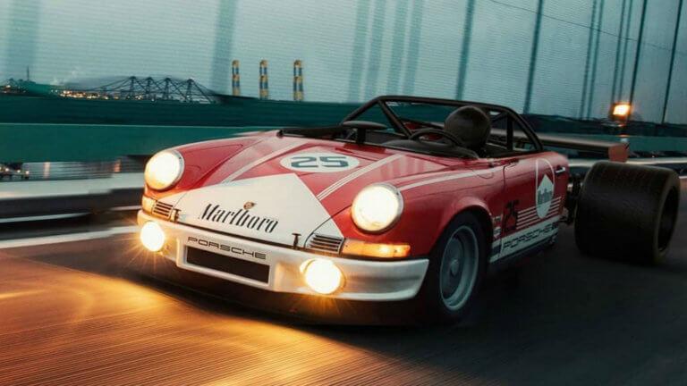 Το Half11 είναι μια Porsche 911 με πίσω μέρος από… Formula 1!