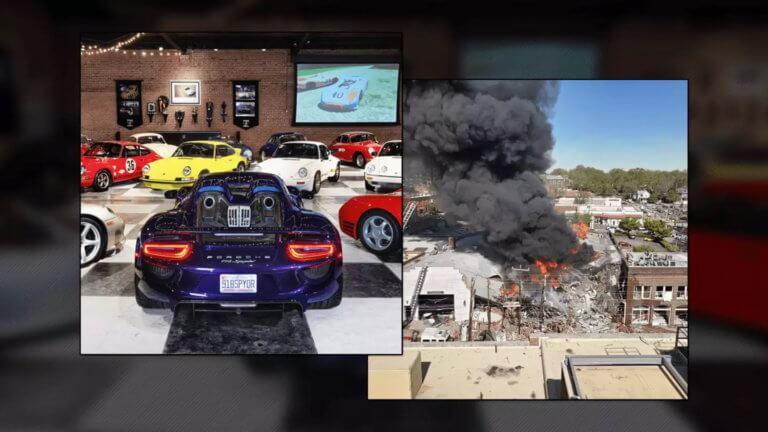 Μεγάλη συλλογή Porsche: Στάχτη και μπούρμπερη [pics+vid]