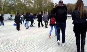 Έδιωξαν τον Ψωμιάδη από τη συγκέντρωση για τη Μακεδονία! – video