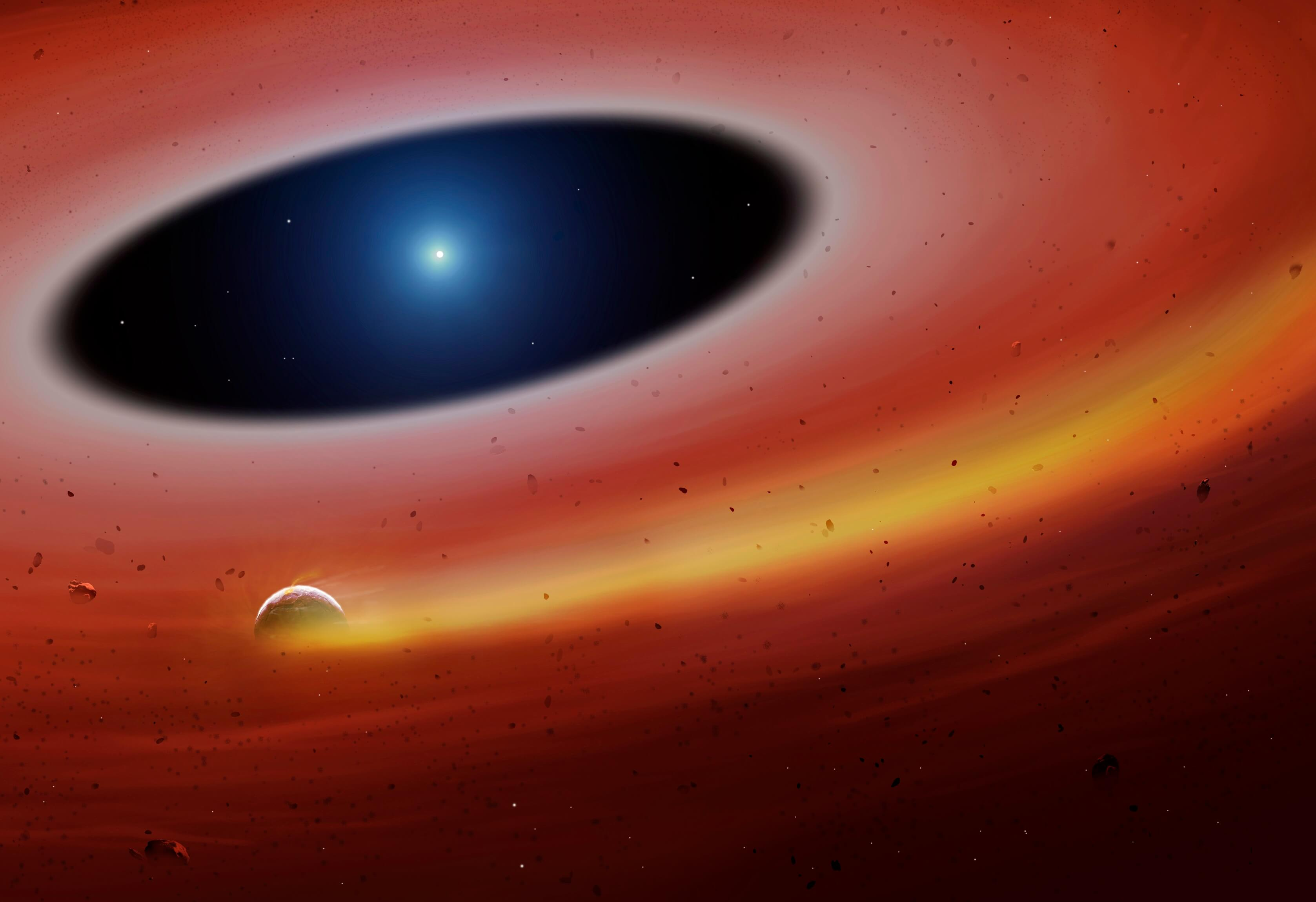 Ανακαλύφθηκε «πτώμα» εξωπλανήτη σε αποσύνθεση γύρω από ένα νεκρό άστρο