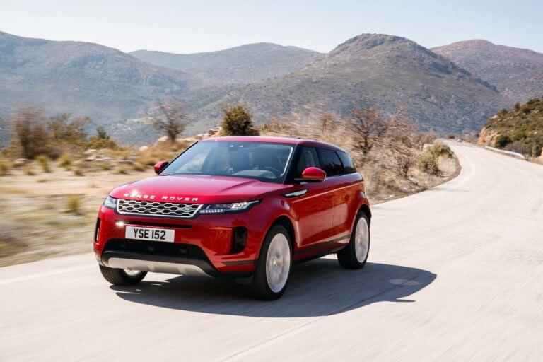 Δοκιμάζουμε το ολοκαίνουργιο Range Rover Evoque
