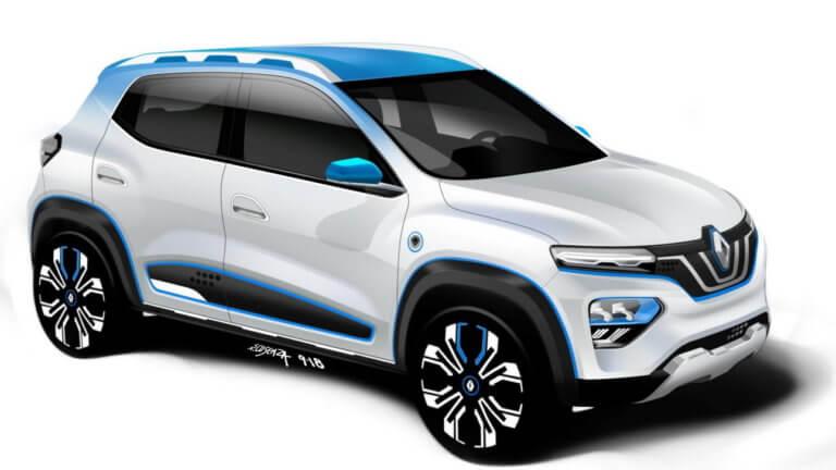 Νέο ηλεκτρικό Renault City K-ZE [pics]