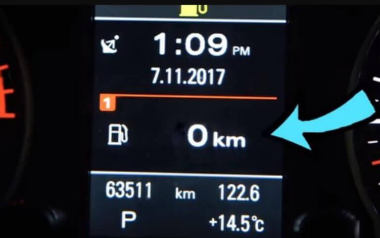 Προσοχή: Ξέρεις πόσα χιλιόμετρα μπορείς να κάνεις με άδειο ρεζερβουάρ;