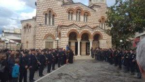 Στην Άρτα με τιμές έγινε η κηδεία του άτυχου αστυνομικού