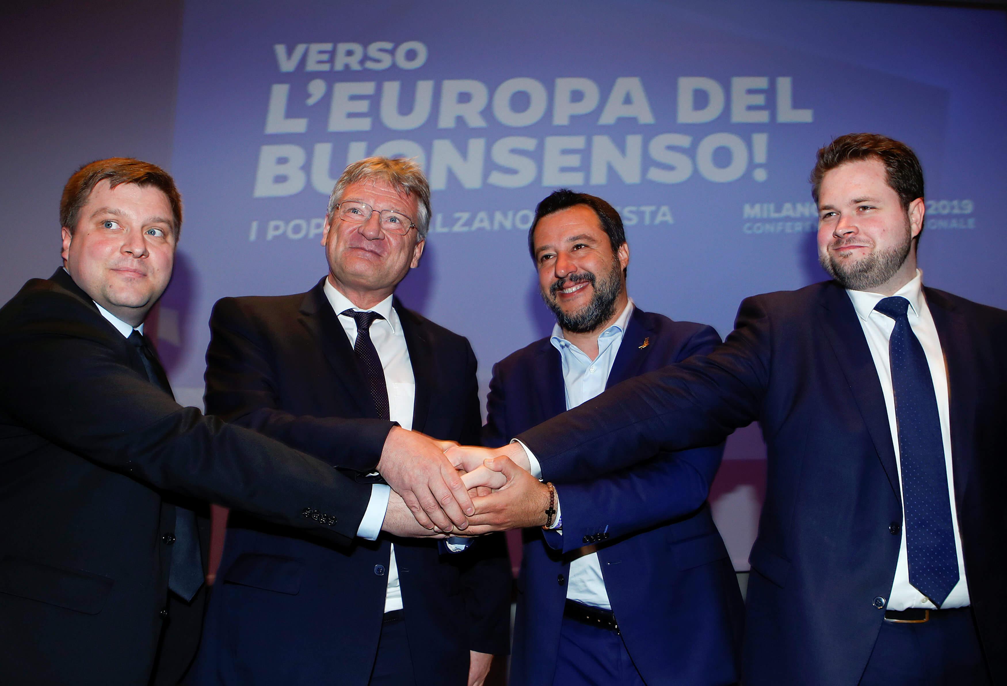 Ευρωεκλογές 2019: Κάλεσμα του Σαλβίνι στους ακροδεξιούς της Ευρώπης για συστράτευση