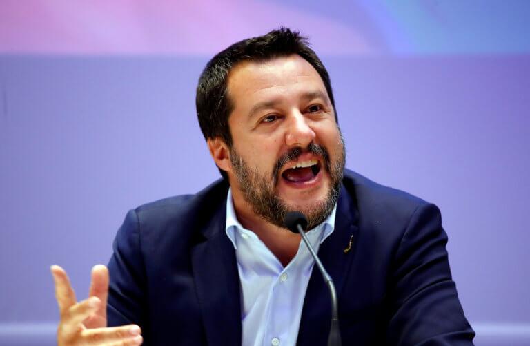 Προκλητικός ο Σαλβίνι! Δεν έδωσε το παρών στην επέτειο της ιταλικής απελευθέρωσης από τον φασισμό