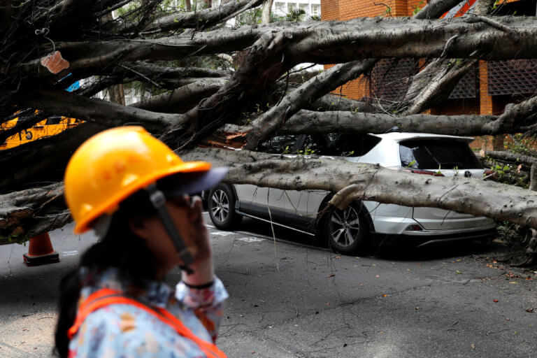 Ταϊβάν: Τρόμος από τον σεισμό – Συγκλονιστικές στιγμές από τον «χορό» των Ρίχτερ