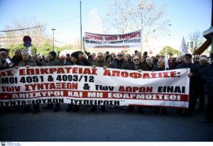 Θεσσαλονίκη: Συνταξιούχοι στους δρόμους για τα αναδρομικά τους – «Τα έχουμε δουλέψει» – video