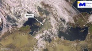 Καιρός: Η επέλαση της σκόνης – Ο ήλιος αγνοείται