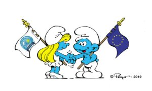 Ευρωπαϊκή Επιτροπή: Τα στρουμφάκια στην καμπάνια για τον καθαρισμό των ακτών