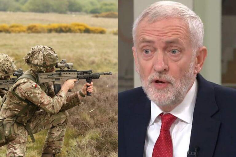 Χαμός με βίντεο Βρετανών στρατιωτών που εξασκούνται πυροβολώντας τον… Κόρμπυν! [vid]